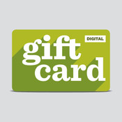 Digital gift card for $10-$100
